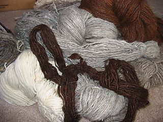 22 skeins to ply