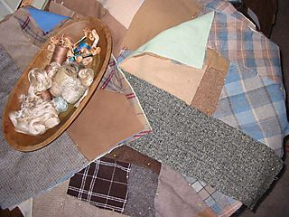 Starting on wool quilts