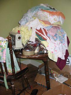 Rummage sale fabrics