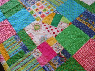 Boo not on quilt