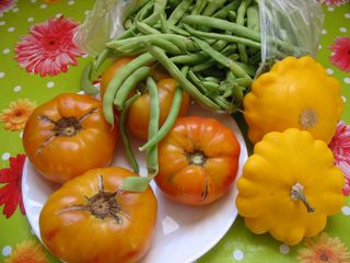 Farm market goodies