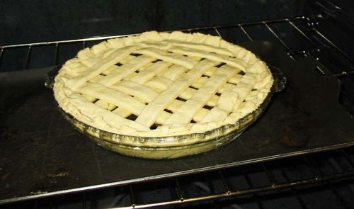 Accountant's blueberry pie