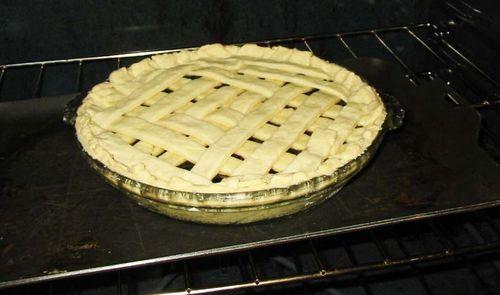 Accountant's blueberry pie
