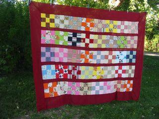 Found quilt