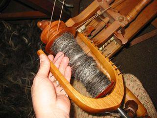 Hairy yarn