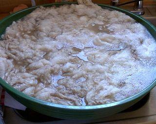 Wool soak 1