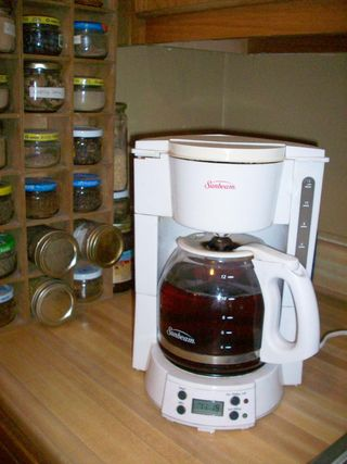 Coffeepot tea