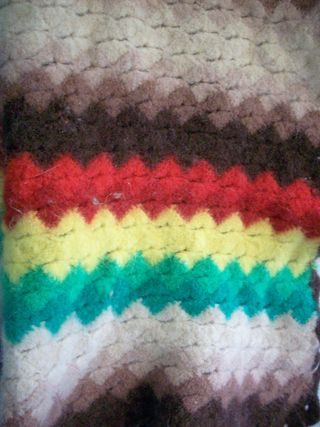Felted rows