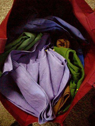Bag o shirts