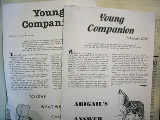 Amish newsletters