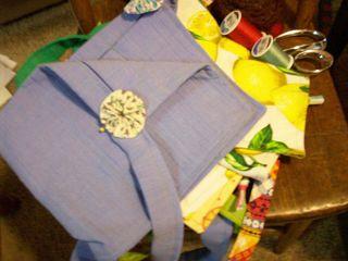 Five aprons