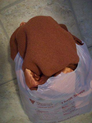 Reddish blanket